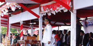 Bupati Boltim, Sebagai Inspektur Upacara HUT RI Ke 72